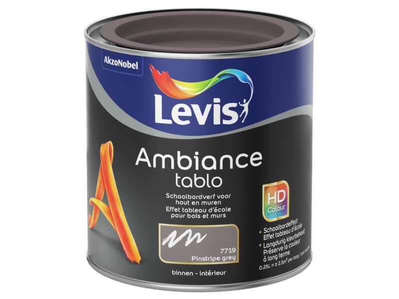 Levis Ambiance schoolbordverf 0,25l pinstripe grey