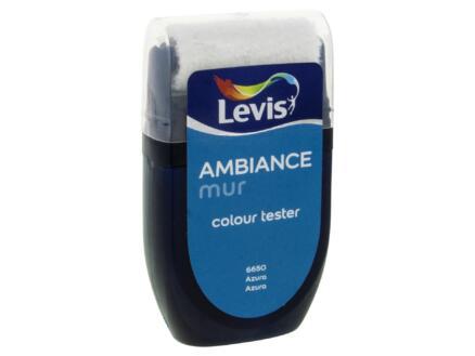 Levis Ambiance tester muurverf extra mat 30ml azura