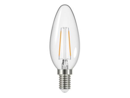 Prolight Ampoule LED flamme claire E14 2,4W