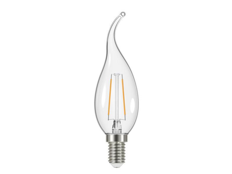 Prolight Ampoule LED flamme torsadée E14 2,4W clair