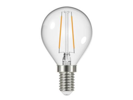 Prolight Ampoule LED sphérique E14 2,4W clair