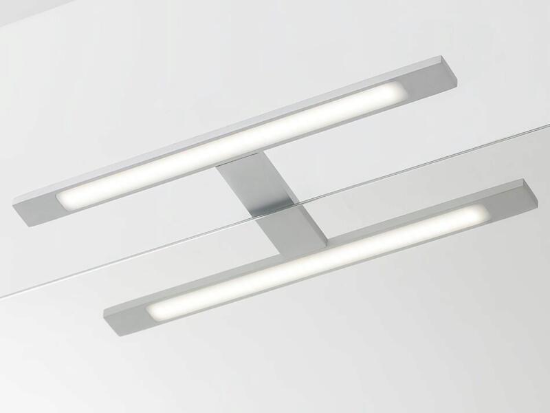 eTiger Ancis LED spiegellamp 40cm aluminium