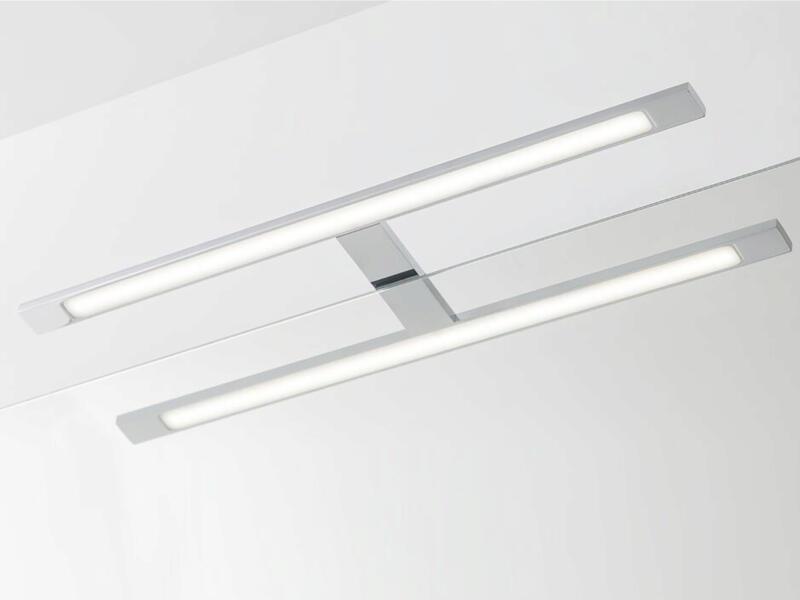 eTiger Ancis éclairage miroir LED 60cm chrome