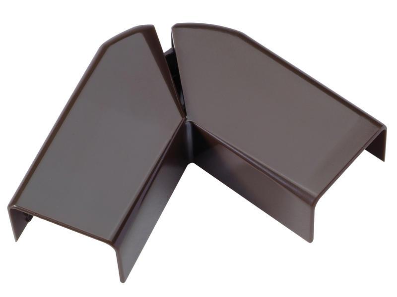 Legrand Angle plat DLP 20x12,5 mm brun