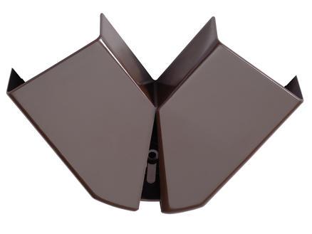 Legrand Angle plat DLP 32x12,5 mm brun