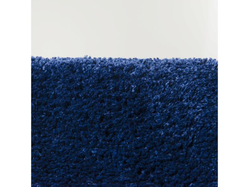 Sealskin Angora tapis de bain 90x60 cm bleu