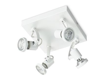 Prolight Anzio spot LED GU10 4x3W