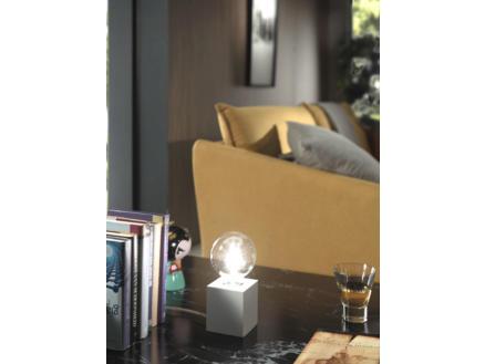 MEO Aosta lampe de table cubique 40W blanc