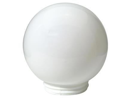 Applique boule en verre E27 max. 60W dimmable opaline