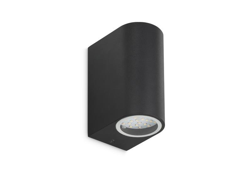 Prolight Applique murale extérieure LED up/down 2x3W noir