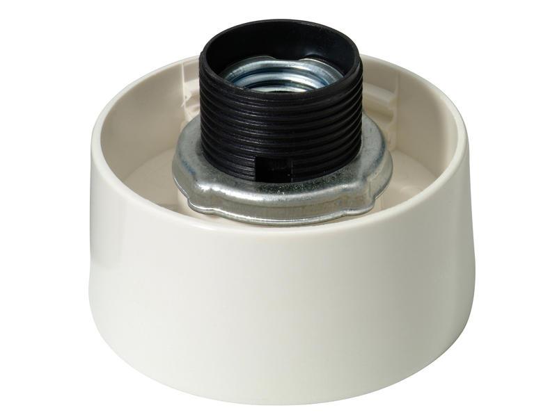 Profile Armature droite E27 max. 60W dimmable blanc