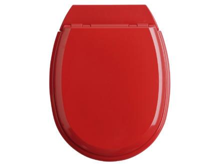 Allibert Atlas WC-bril rood