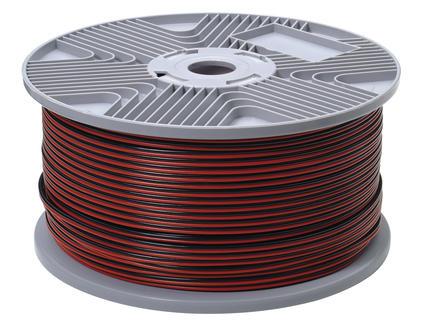 Profile Audiokabel 2G 0,75mm² rood en zwart per lopende meter