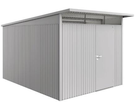 Biohort AvantGarde A8 tuinhuis 260x220x380 cm zilver metaal