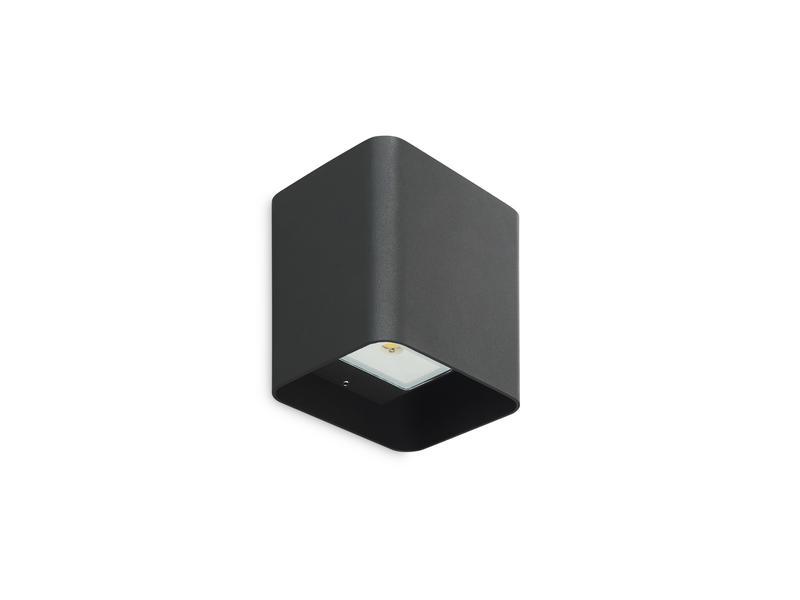 Prolight Avila LED wandlamp up/down 6W zwart