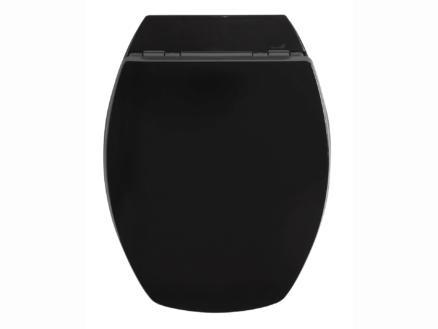 Allibert Baccara 2 WC-bril zwart