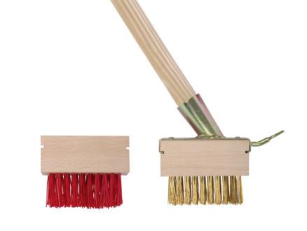 AVR Balai de désherbage matière synthétique/métal set de 2 pièces