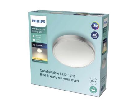 Philips Balance LED wand- en plafondlamp 17W nikkel grijs