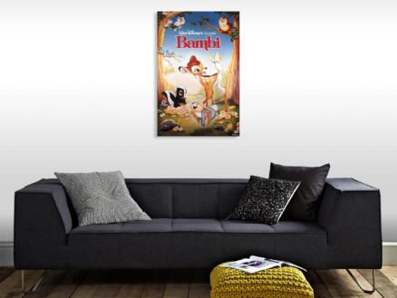 Disney Bambi canvasdoek 50x70 cm