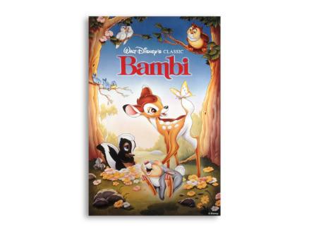 Disney Bambi toile imprimée 50x70 cm