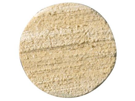 Baquette ronde 22mm 270cm bois dur blanc