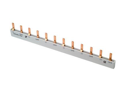 Profile Barrette à broches 10mm² 12 modules