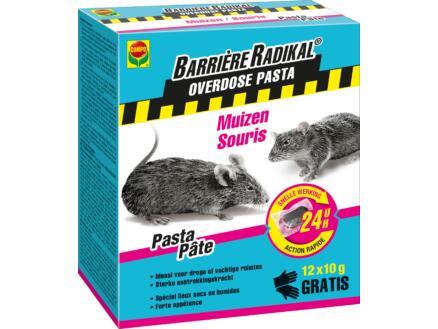 Compo Barrière Radikal Overdose pasta muizenvergif 12x10 g