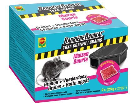 Compo Barrière Radikal Toxa granen + muizenlokdoos 2x25 g