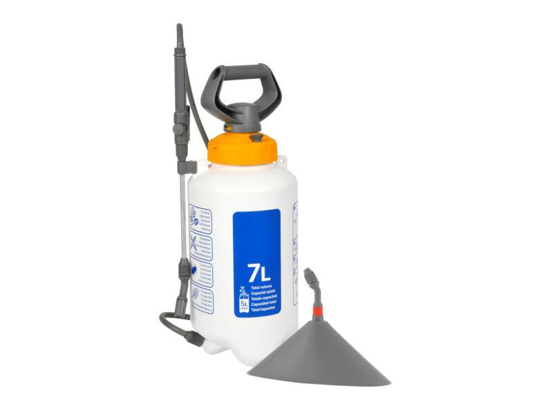 Hozelock Basic pulvérisateur à pression 7l + cône