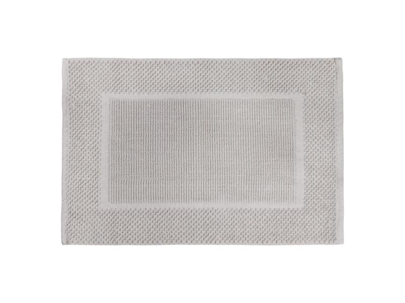Differnz Basics badmat 80x50 cm lichtgrijs