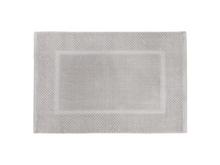 Differnz Basics tapis de bain 80x50 cm gris clair