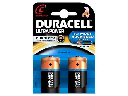 Duracell Batterij Ultrapower C 1,5V 2 stuks