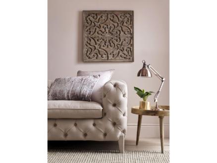 Art for the Home Bazaar tableau en bois sculpté 62x62 cm