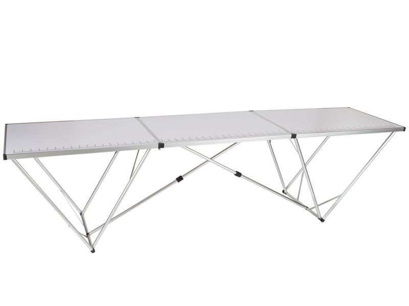 Practo Home Behangtafel professioneel 3m aluminium