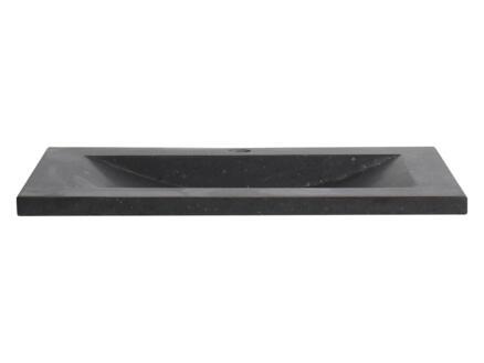 Differnz Belvedere lavabo à poser 100cm céramique noir