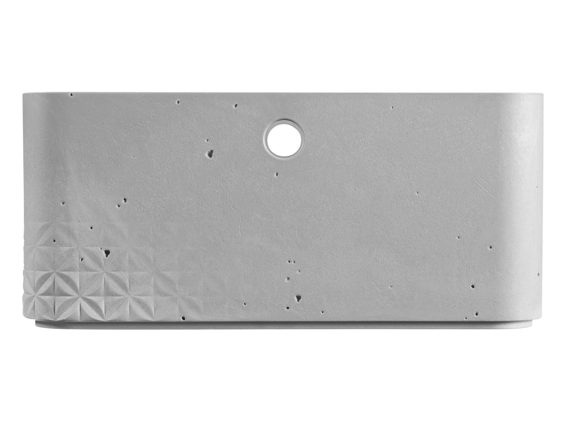 Curver Beton bac de rangement 8,5l gris clair   Hubo