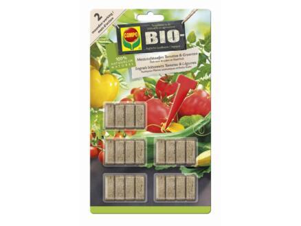 Compo Bio engrais en bâtonnets tomates & légumes 20 pièces