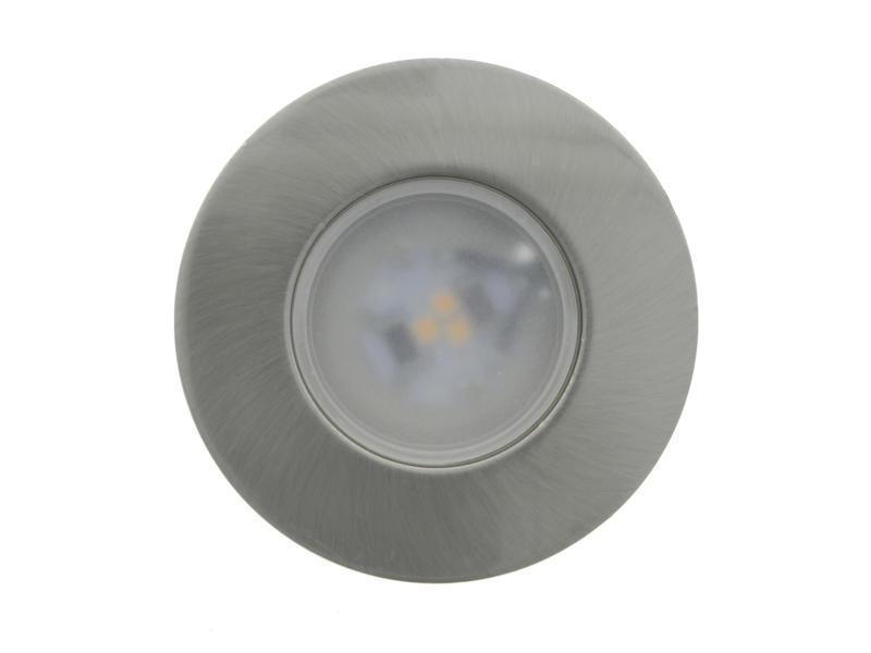 Light Things Blanc Chaud LED spot 3W nikkel