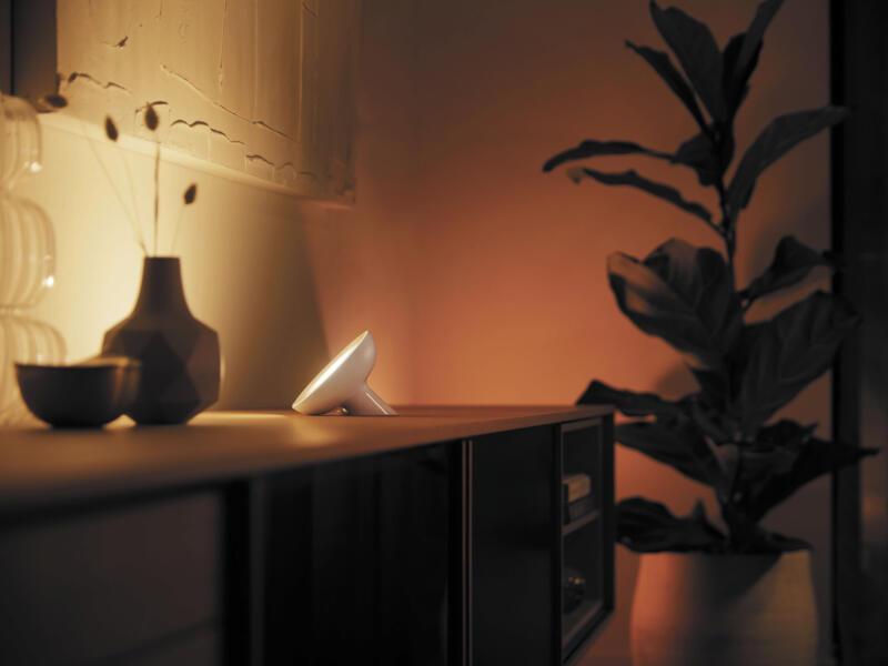 Hue Bloom LED tafellamp 7,1W dimbaar RGB wit