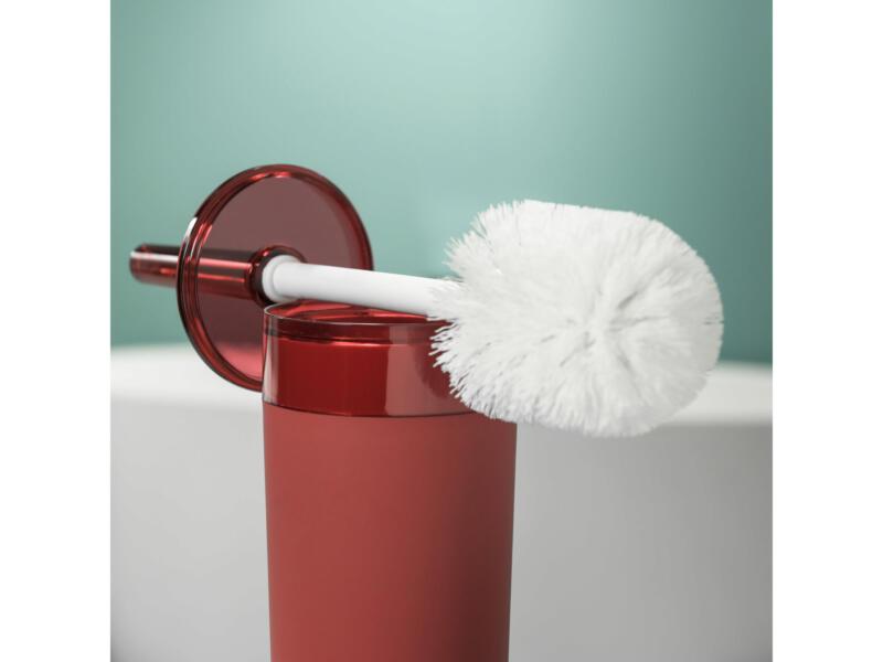 Sealskin Bloom brosse WC avec support rouge