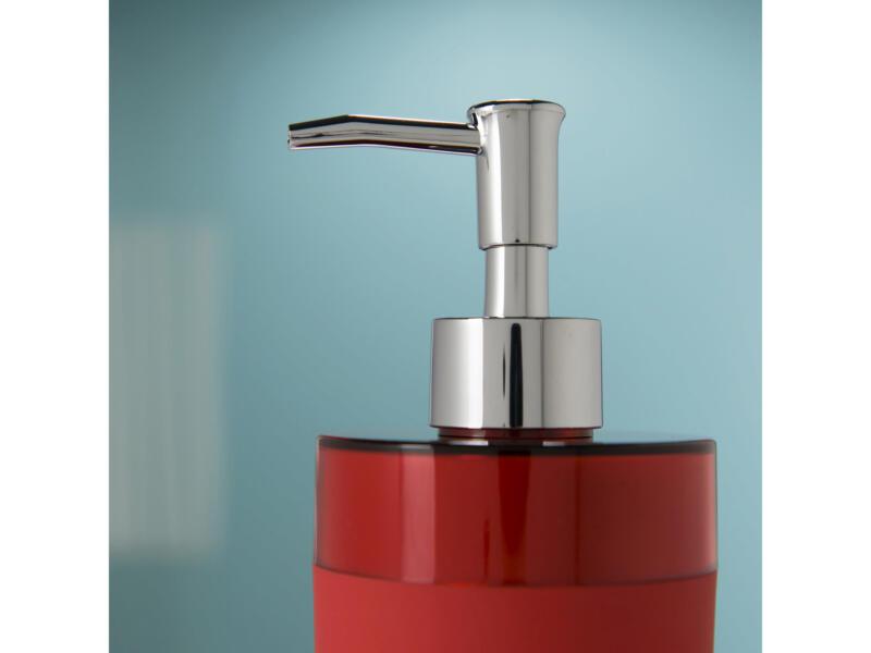 Sealskin Bloom distributeur de savon rouge