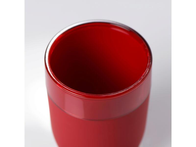 Sealskin Bloom gobelet rouge