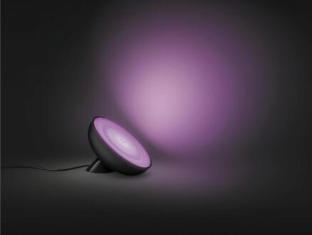 Philips Hue Bloom lampe de table LED 7,1W dimmable RGB noir