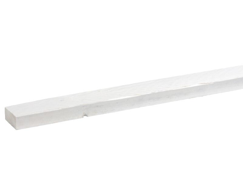 CanDo Bois d'échafaudage 3x6,2x250 cm blanc