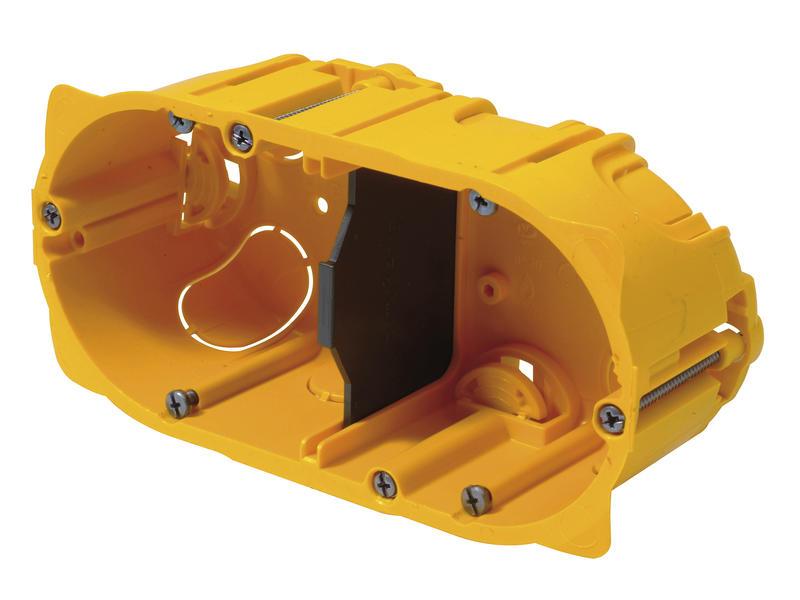 Legrand Boîte d'encastrement double 107x81x45 mm