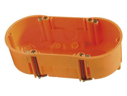 Boîte d'encastrement double 71x68x47 mm