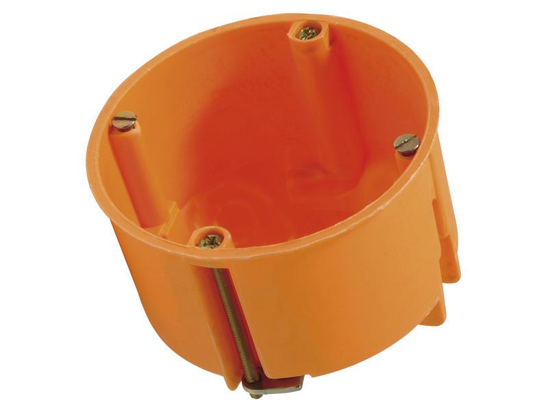 Boîte d'encastrement parois creuses 68x47 mm