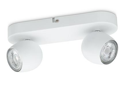 Prolight Bola barre de spots LED GU10 2x3W