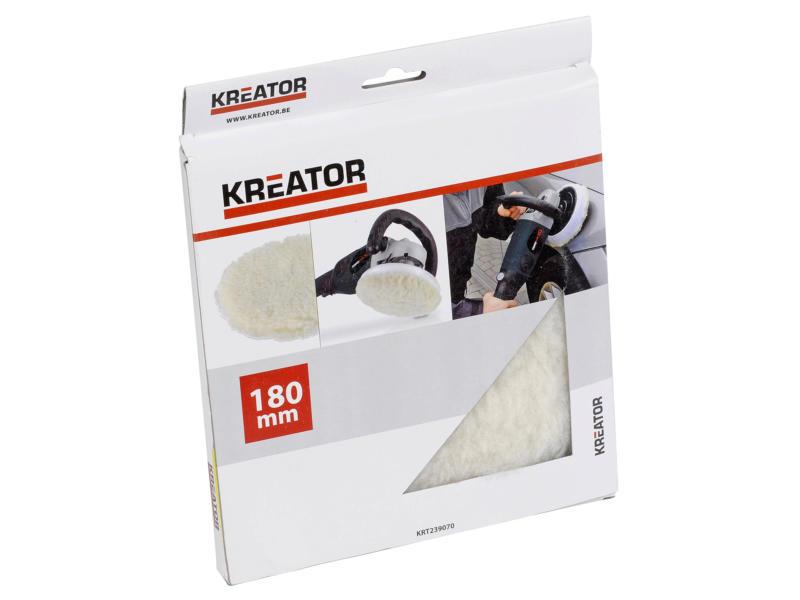 Kreator Bonnet de polissage 180mm KRT239070