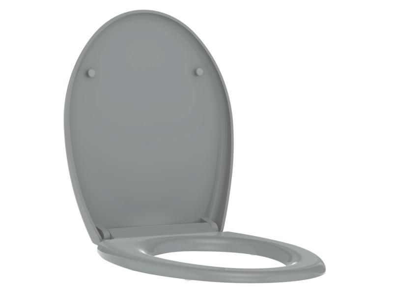 Allibert Boreo WC-bril grijs